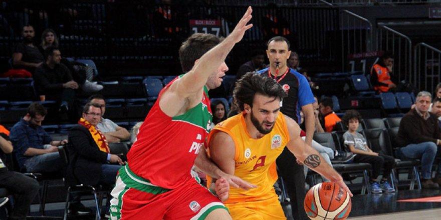 Galatasaray, Pınar Karşıyaka'yı devirdi