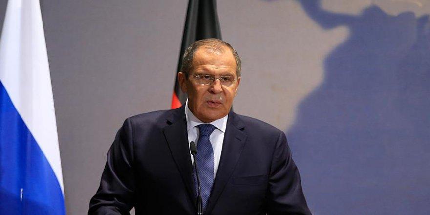 Lavrov'dan Ukrayna açıklaması