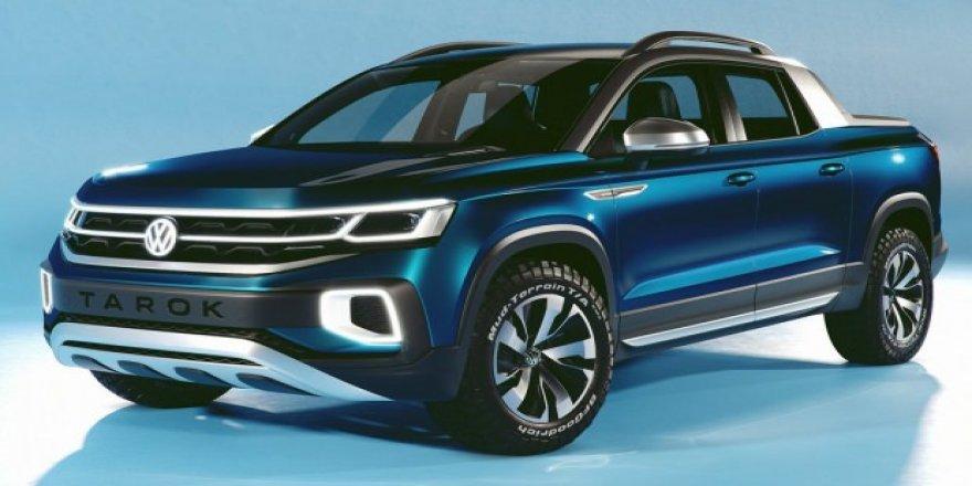 Volkswagen'den yeni konsept pick-up Tarok