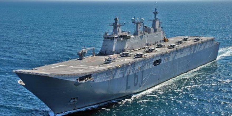 Yüzen ordu olacak: Türkiye'nin ilk amfibik hücum gemisinin gövdesi tamam!