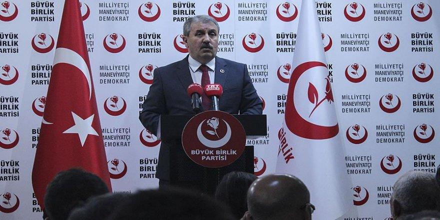 Destici'den Cumhur İttifakı açıklaması