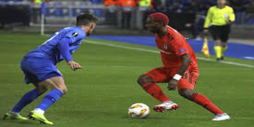 UEFA Avrupa Ligi: Genk: 1 - Beşiktaş: 1 (Maç sonucu)