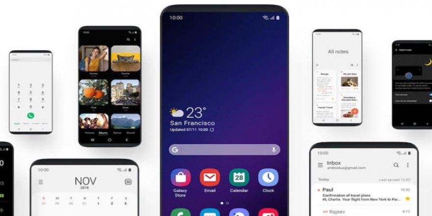 Samsung'un yeni telefon arayüzü işte böyle görünüyor!
