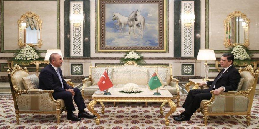 Çavuşoğlu, Türkmenistan'da