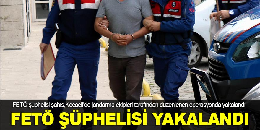 FETÖ şüphelisi Kocaeli'de yakalandı