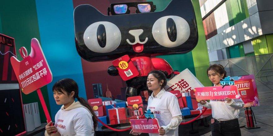 Çin'in 'Bekarlar Günü' hasılatı 30,8 milyar dolar