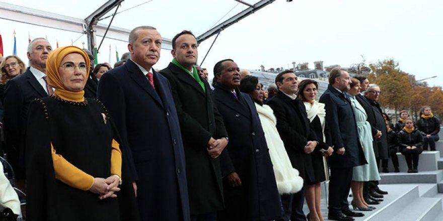Erdoğan'a Paris'teki yoğun ilgi Belçikalı bakanı rahatsız etti