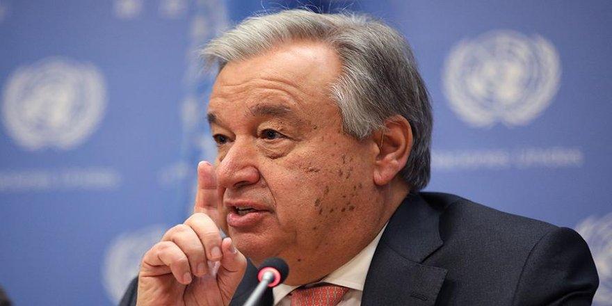 Guterres: Gazze'deki gerilim bir an önce engellenmeli