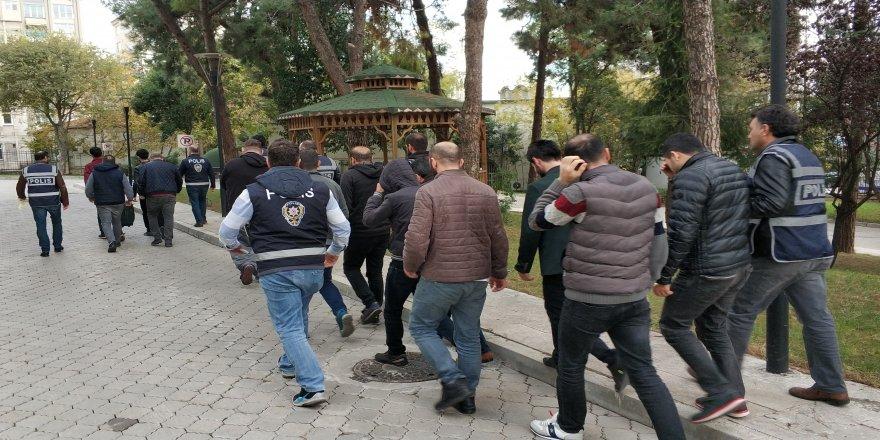 Kablo hırsızlığından 13 kişi tutuklandı