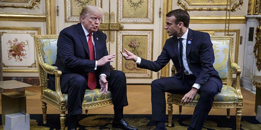 Trump'tan Macron'a ağır eleştiriler