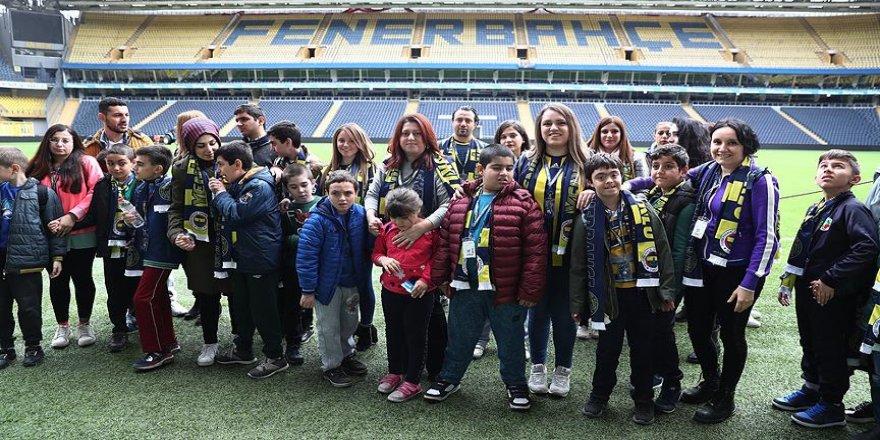 Fenerbahçe özel misafirlerini ağırladı