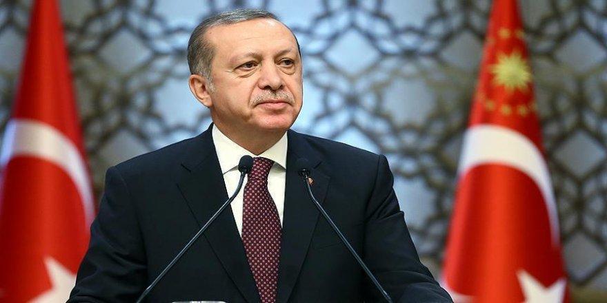 Erdoğan'dan Cengiz Arslan'a tebrik telgrafı
