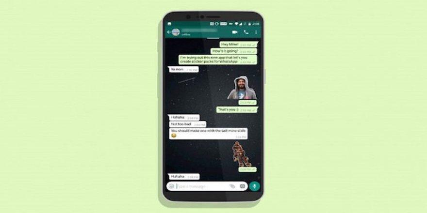 Fotoğraflarınızı WhatsApp Sticker'ı haline getirin