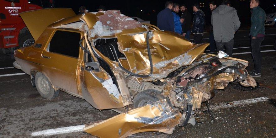 Bu araçtan yaralı kurtuldu