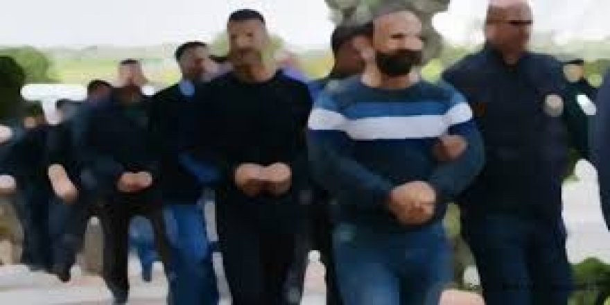 Tefeci operasyonu: 8 tutuklama