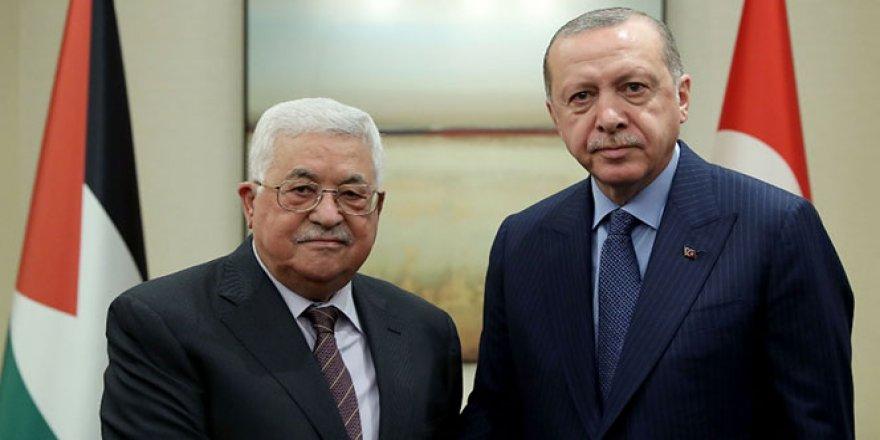 Erdoğan, Abbas'la telefonda görüştü