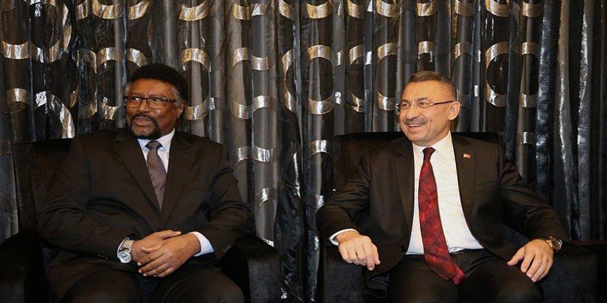 Oktay, Somali Meclis Başkanını kabul etti
