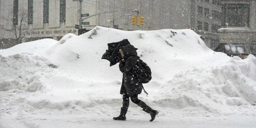 ABD'de kar fırtınası