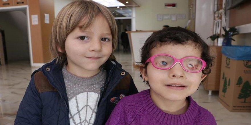 Halah'ın anne karnında kapanan gözleri Türkiye'de açıldı!