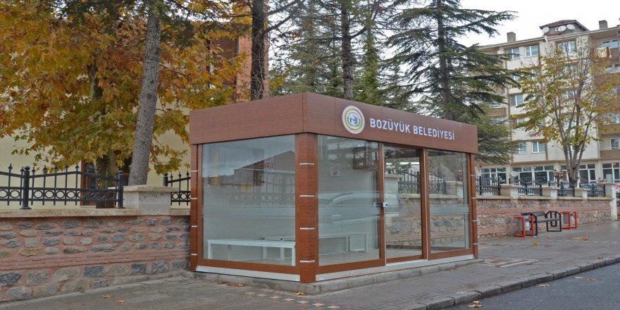 21. Klimalı durak Soğukpınar Camii önündeki yerini aldı