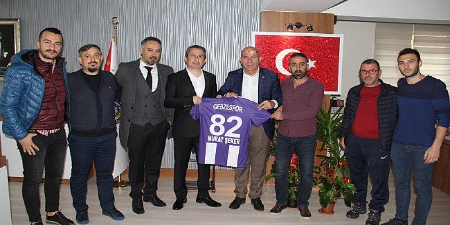 Gebzespor'dan Murat Şeker'e ziyaret