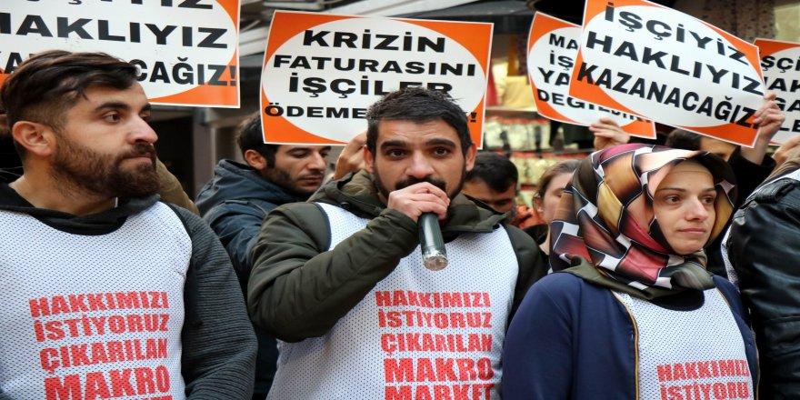 İşten çıkartılan işçiler imza kampanyasını sonlandırdı
