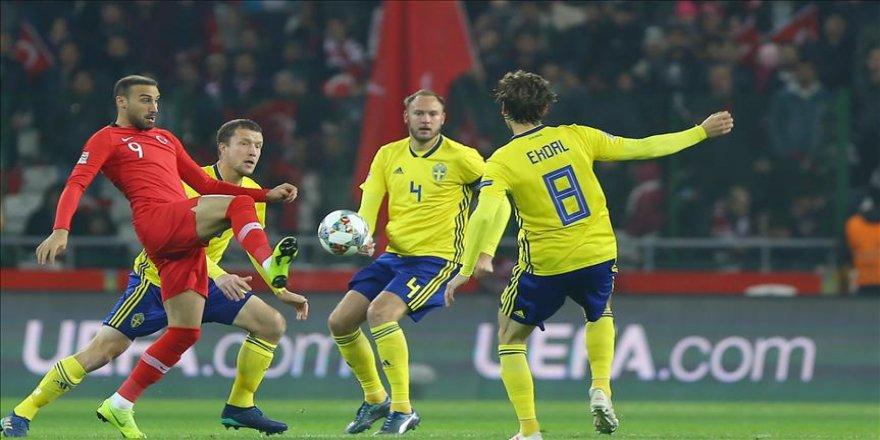 Türkiye, İsveç'e 1-0 yenildi