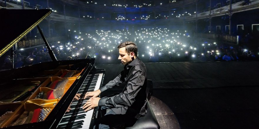 Rekortmen piyanisttenTürkiye'de ilk konser