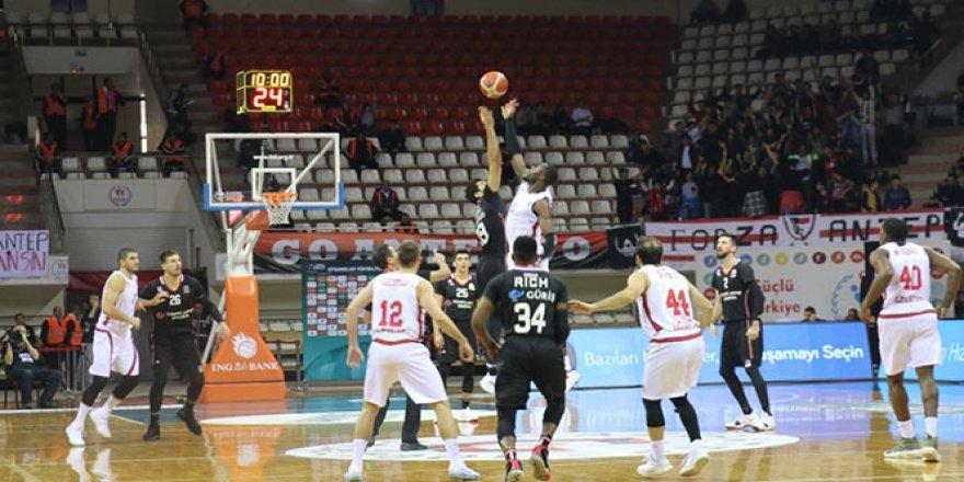 Gaziantep Basketbol, Beşiktaş'ı eli boş gönderdi
