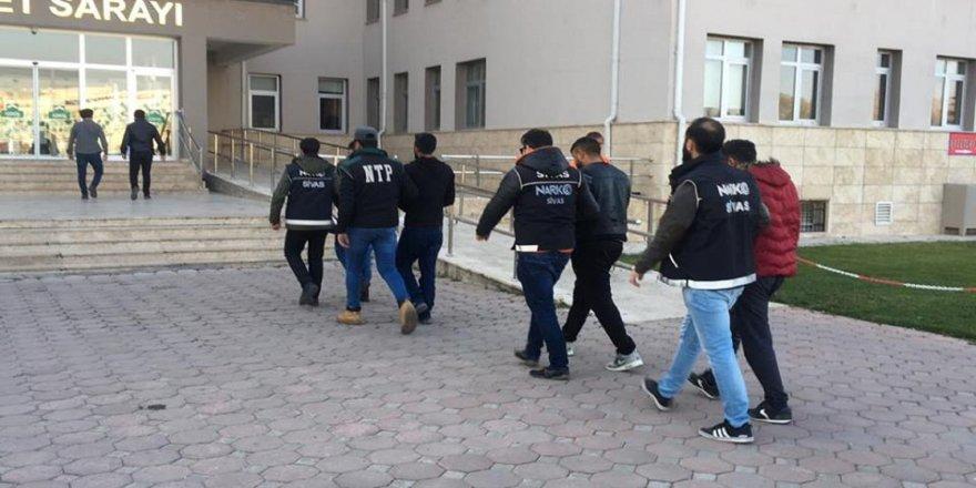 Uyuşturucu operasyonu: 7 tutuklama
