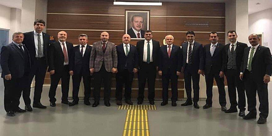 İlçe başkanları Ankara'da