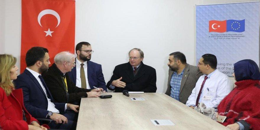 Suriye'de siyasi çözüm için Türkiye ile AB hemfikir
