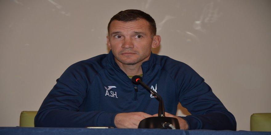 """Andriy Shevchenko: """"Lucescu'ya saygı duyuyorum"""""""