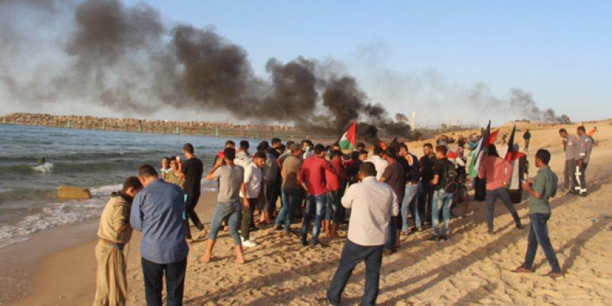 İsrail askerleri 41 Filistinliyi yaraladı