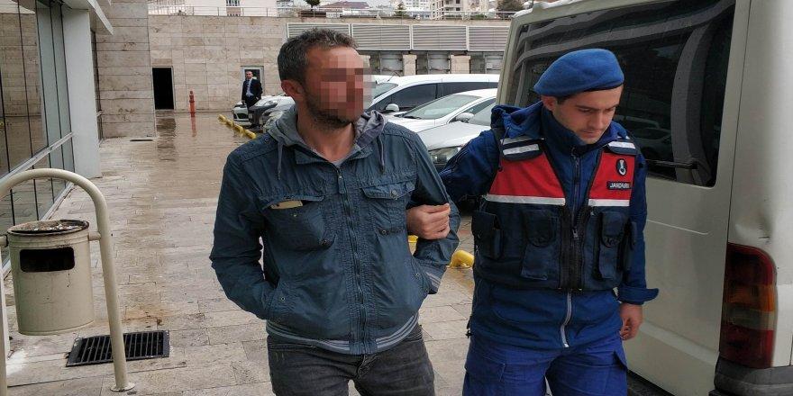 Karısına şiddet uygulayan koca tutuklandı