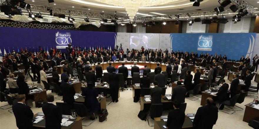 Erdoğan, G20 zirvesinde liderlerle buluşacak