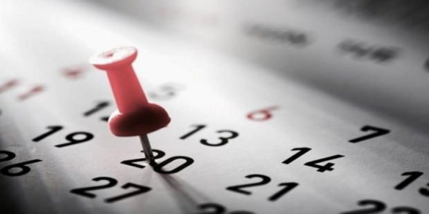 2019 yılında kaç gün tatil yapılacak?