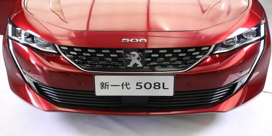 Peugeot 508L modelini tanıttı