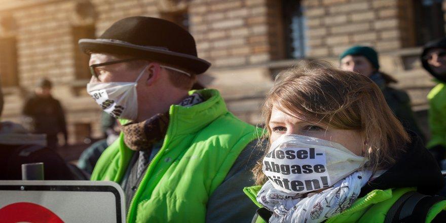 Almanya hava kirliliğiyle baş edemiyor