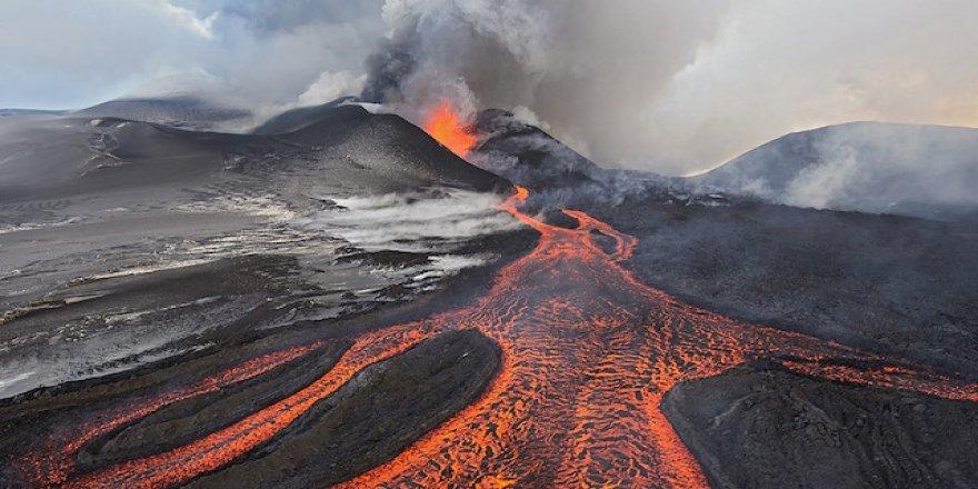 Dünyanın en uzun yanardağı keşfedildi