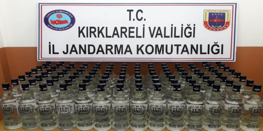 Sahte içki çetesi çökertildi: 8 gözaltı