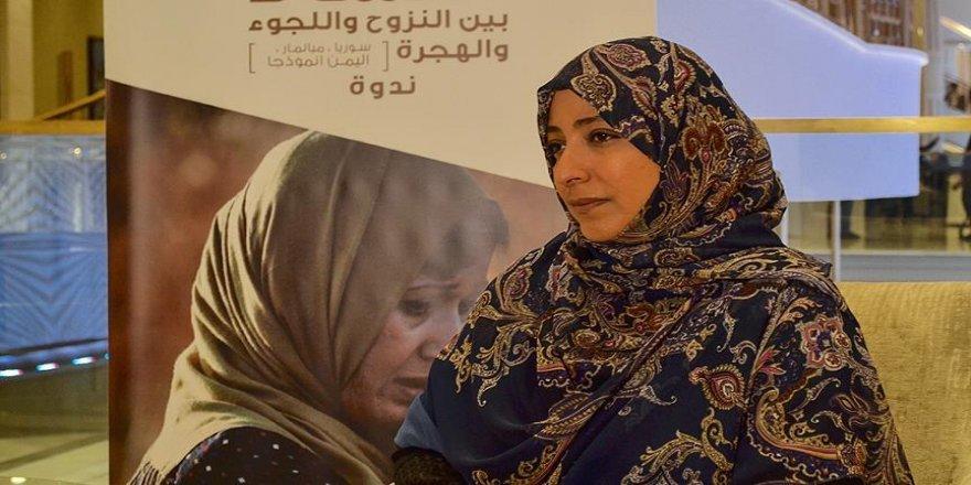Nobel Ödüllü aktivistten çağrı
