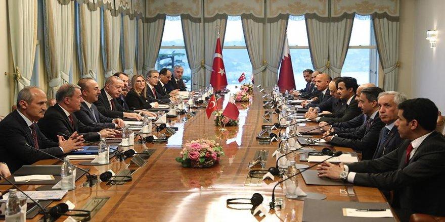 Ankara-Doha stratejik işbirliği Katar basınında