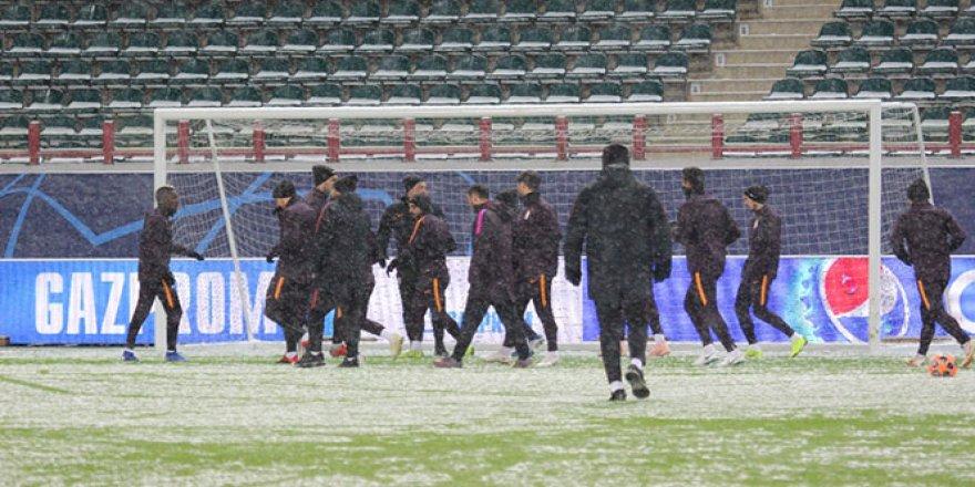 Galatasaray, Lokomotiv Moskova maçı hazırlıklarını tamamladı