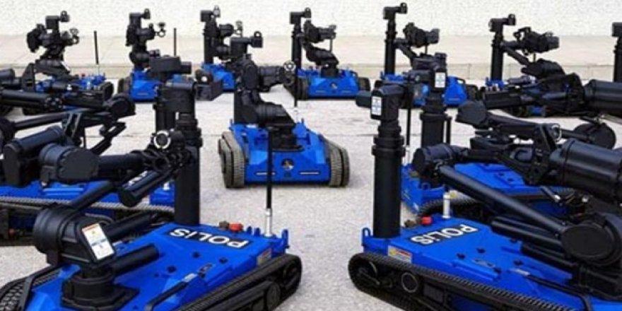 100 adet 'Ertuğrul' robotu Emniyet'e teslim edildi