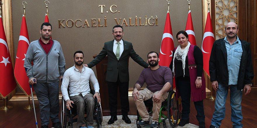 Aksoy'dan 'Engelliler Günü' mesajı