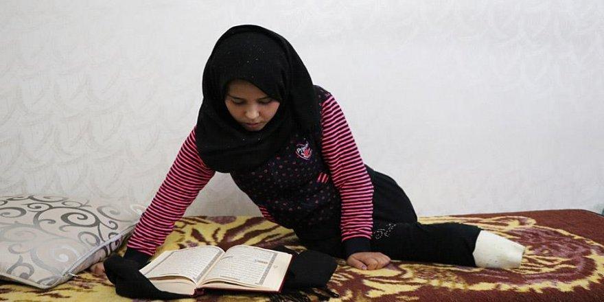 Esed'in bombaları Suriyeli Meryem'i yatağa mahkum etti