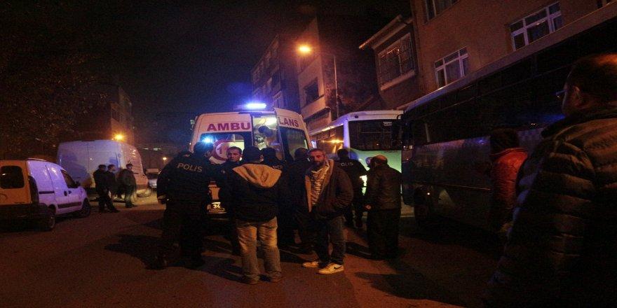 Otobüs şoförüne silahlı saldırı
