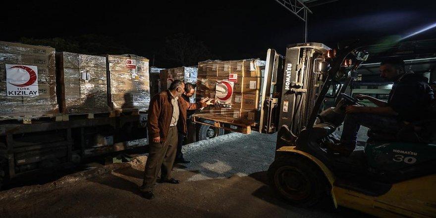 Türkiye'nin ilaç yardımı Gazze'ye ulaştı