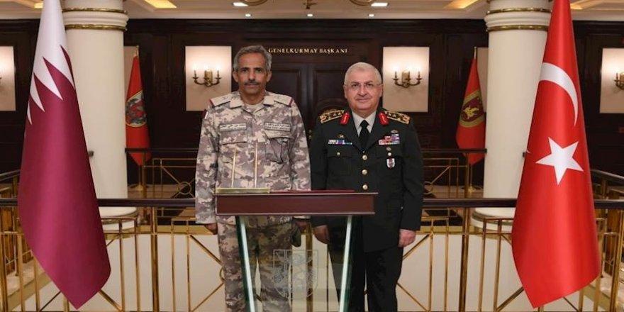 Katarlı komutan Orgeneral Güler'i ziyaret etti